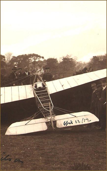 First flight to Ireland