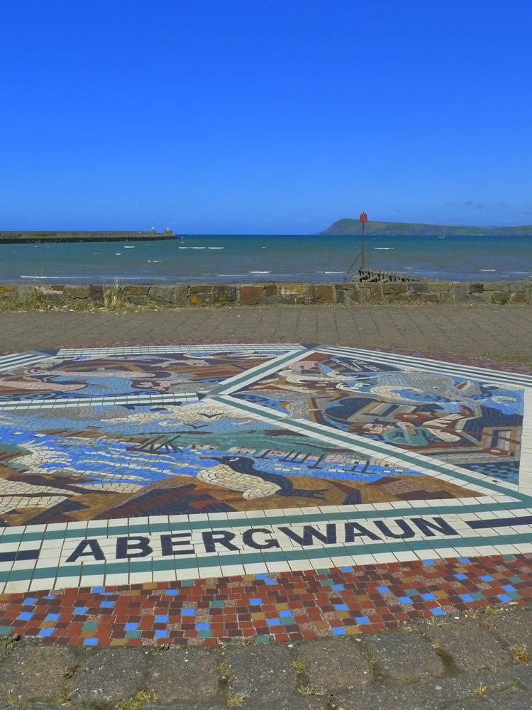 Goodwick Parrog mosaic