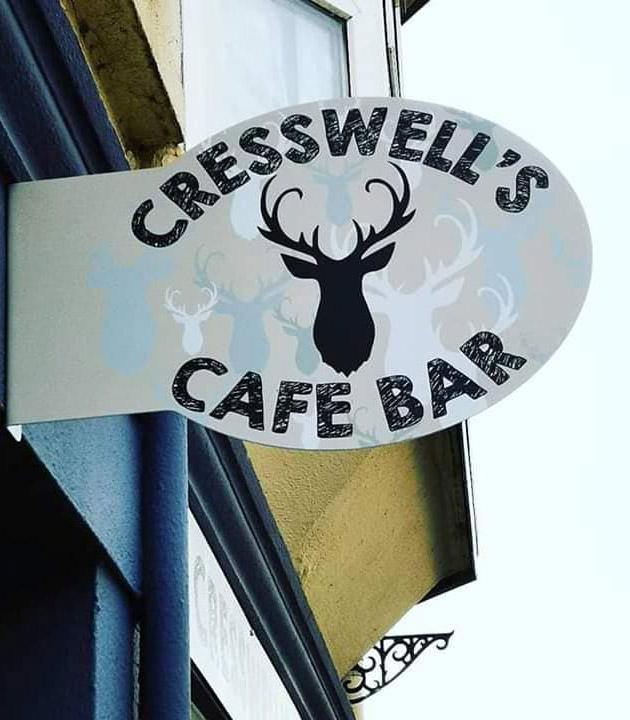 Cresswell's Café Sign