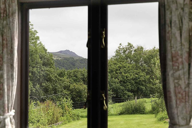 Tregynon Farmhouse View